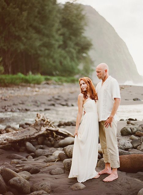 Intimate Hawaii wedding