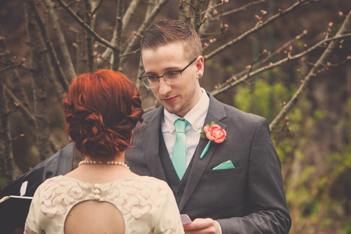 elopement ceremony in Ireland