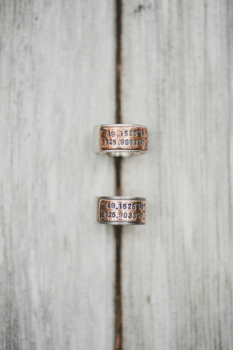 custom engraved wedding bands