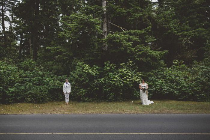 Tofino wedding portrait