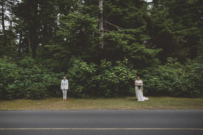 Tofino wedding portrait