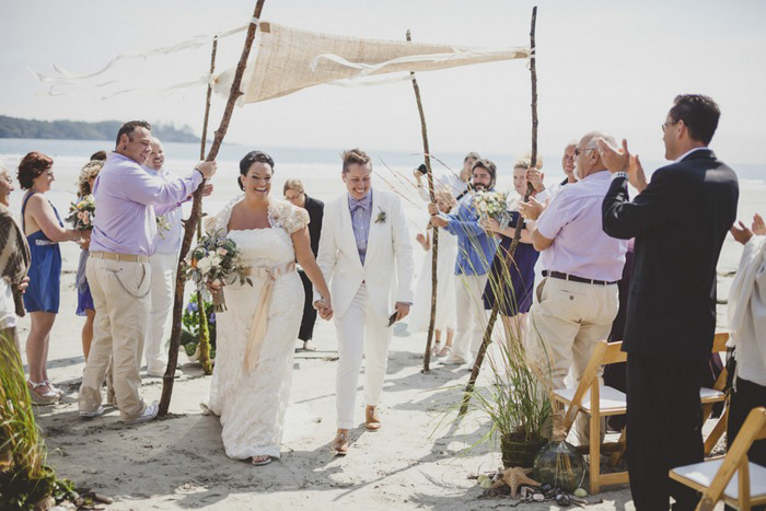 beach wedding recessional