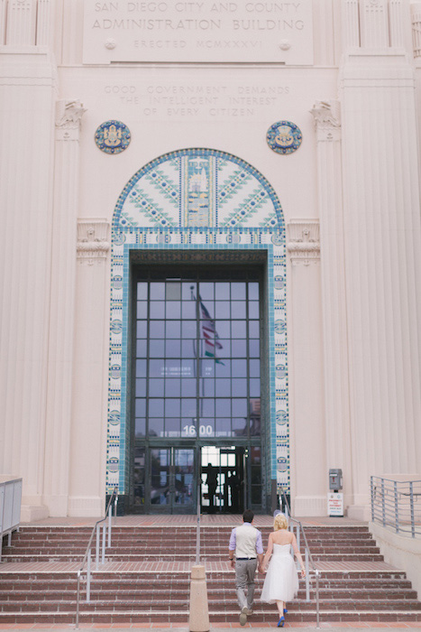San Diego City Hall elopement