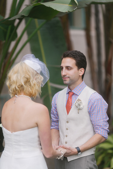 San Diego elopement ceremony