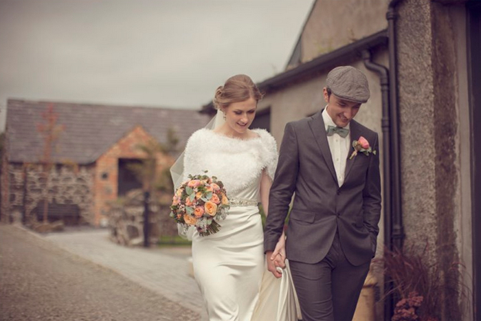 intimate English wedding