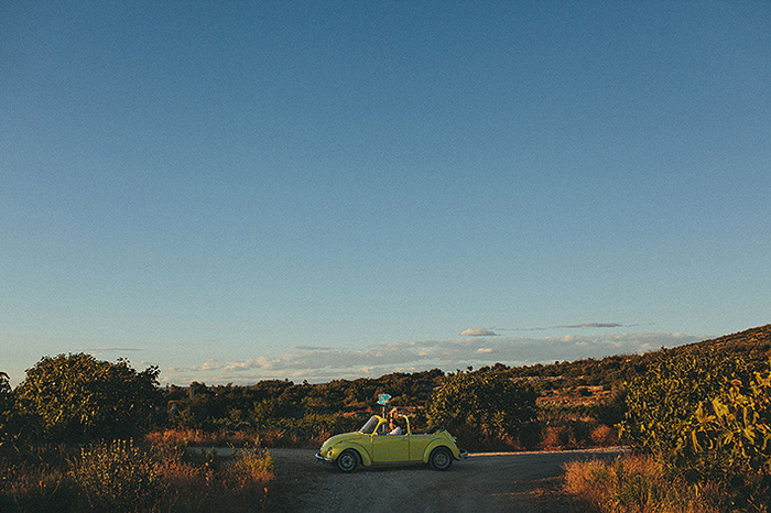 driving through croatian countryside