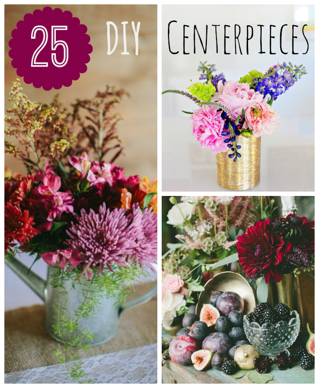 25 Diy Wedding Centerpieces