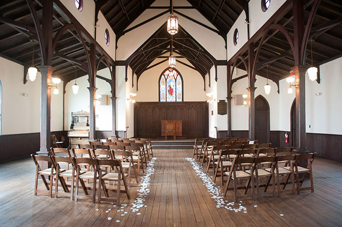 North Carolina wedding chapel