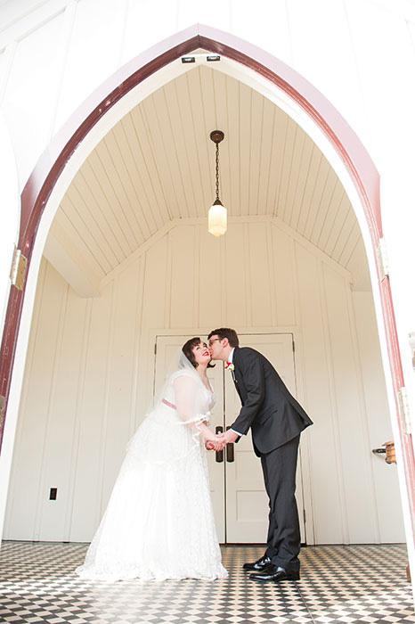 intimate north carolina wedding
