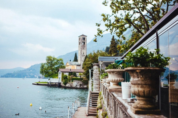 Elijah And Rebecca S Lake Como Villa Wedding