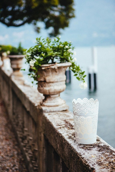 Lake Como restaurant detail