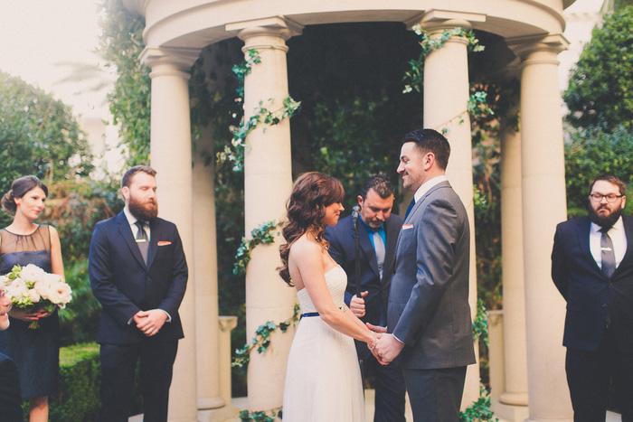 Cesar's Palace wedding ceremony