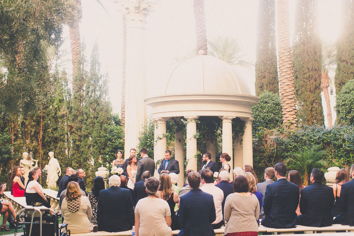 Venus garden wedding ceremony