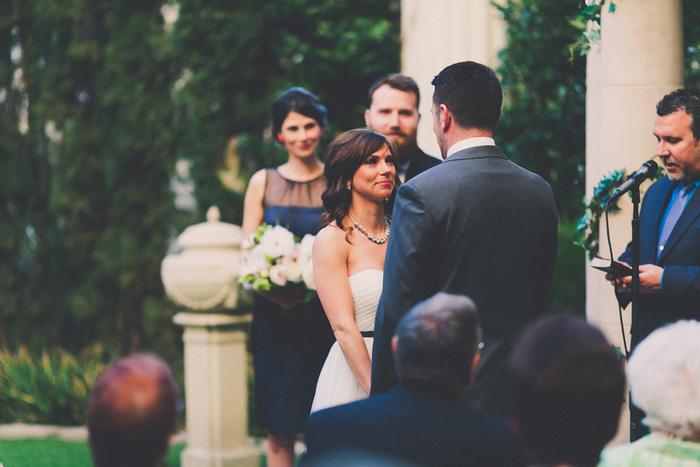 outdoor Vegas wedding ceremony