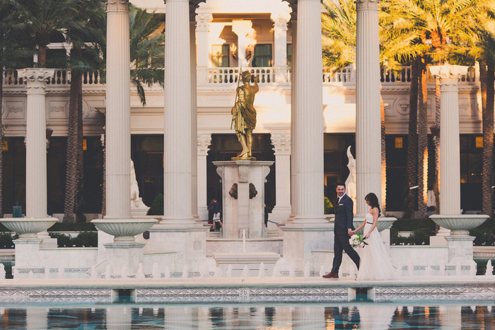 Tj And Shannons Vegas Destination Wedding
