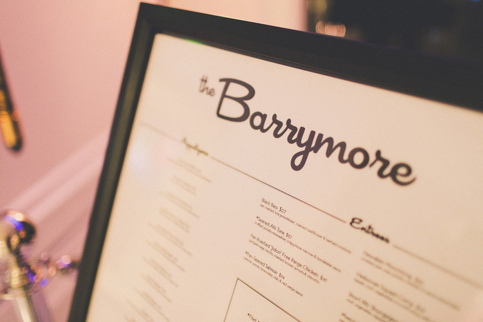 Barrymore wedding