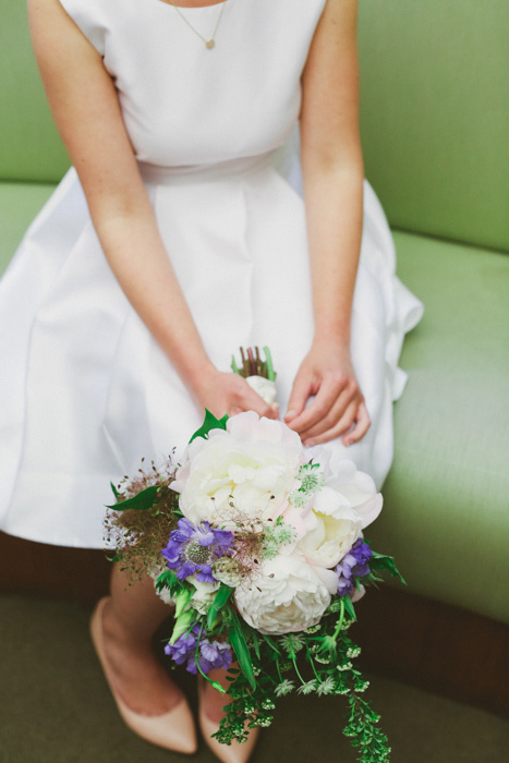 bride's elopement bouquet