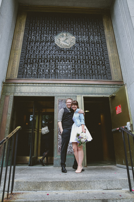 NYC City Hall Elopement