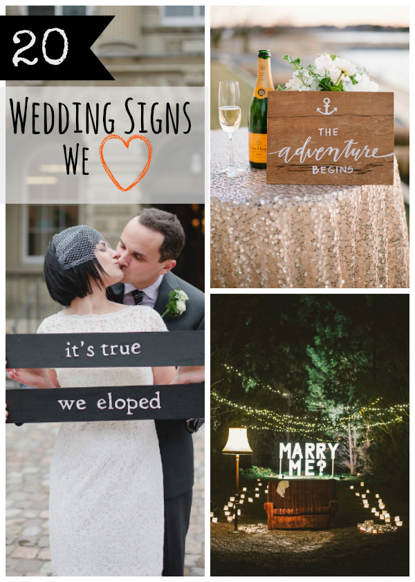 wedding signs gd