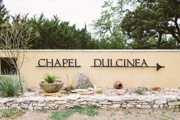 Chapel Dulcinea sign