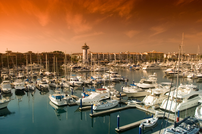 Marina in Puerto Vallarta