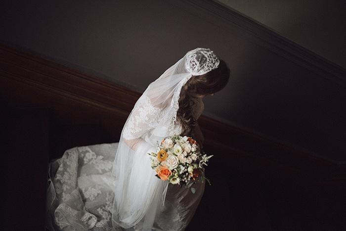 cap wedding veil