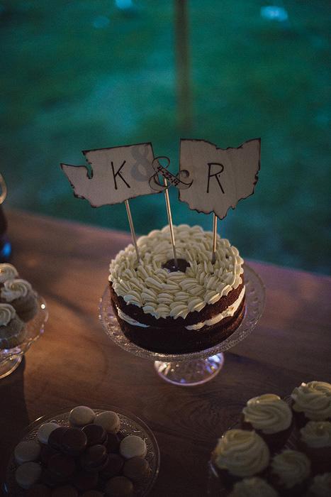 state cake topper