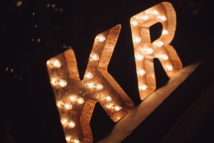 marquee initials