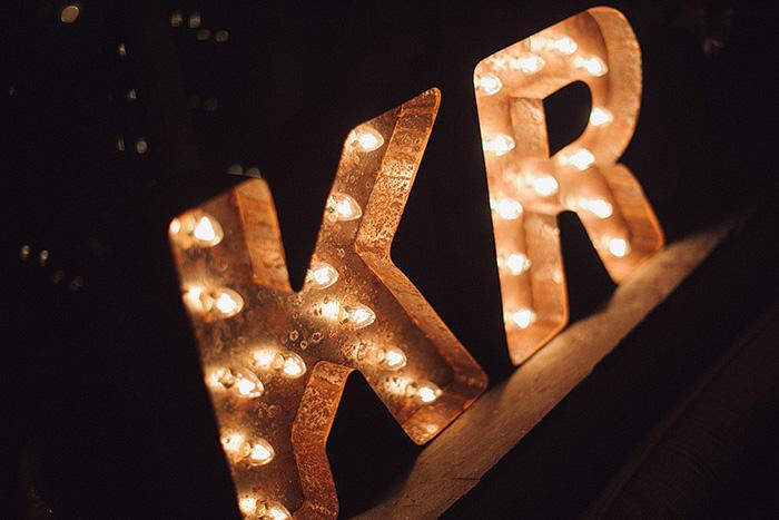 marquee initials