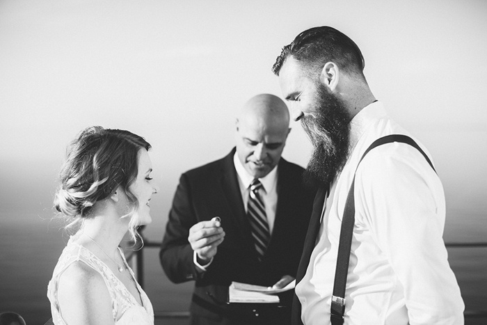 officiant passing rings