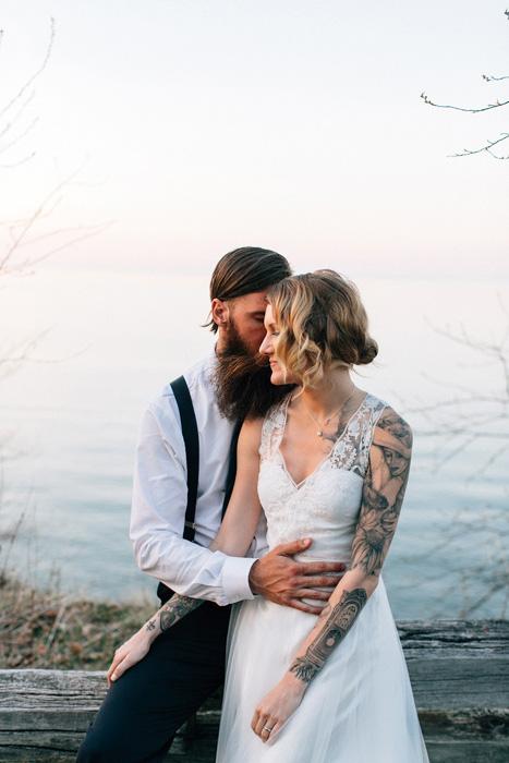 Michigan B&B wedding