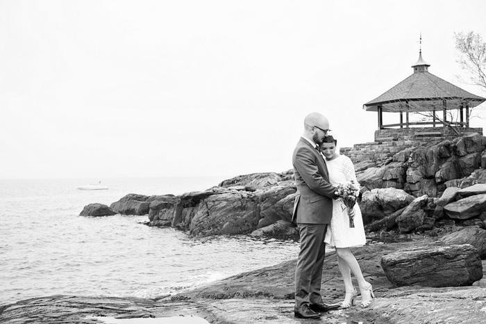 bride and groom hggin