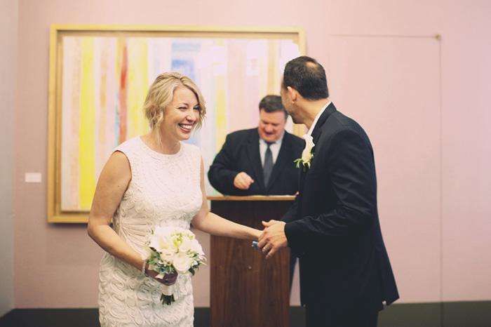 NYC City Hall elopement ceremony
