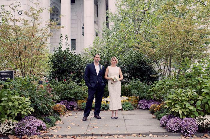 NYC elopement portrait
