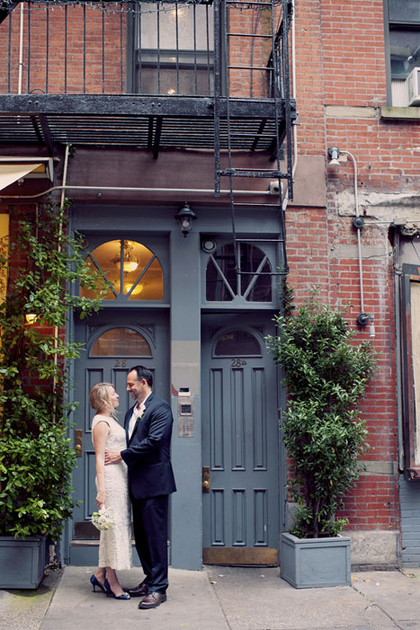 NYC wedding portrait