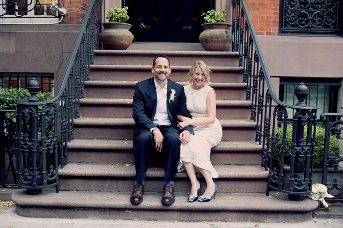 NYC elopement portrait
