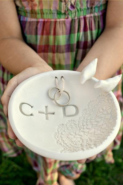 ring bowl diy