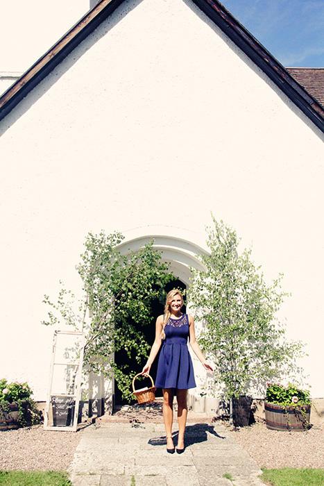 small swedish wedding ceremony church