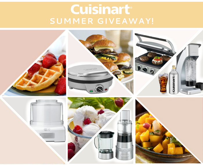Enter the Cuisinart Summer Giveaway via the BridalPulse App
