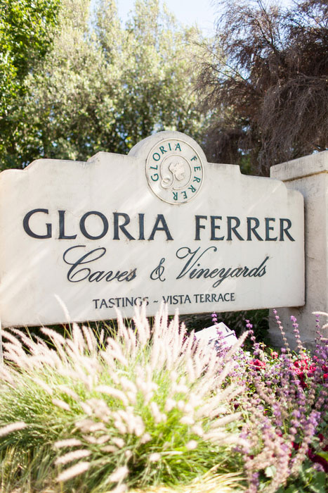 Gloria Ferrer sign