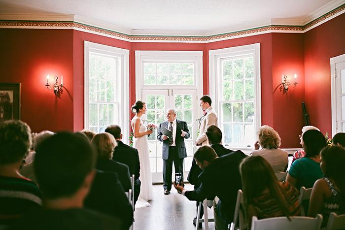 clubhouse wedding ceremomy