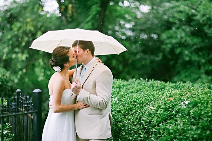 Đám cưới lãng mạn vào 1 ngày mưa?