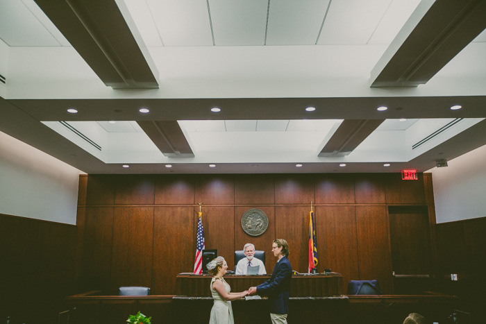 Berenice and Mike's North Carolina Courthouse Wedding