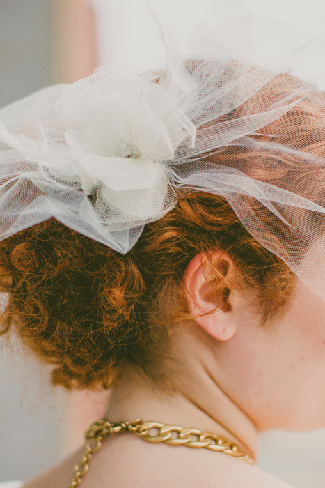 bride's fascinator