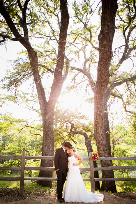 Texas barn wedding