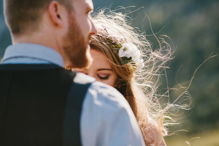 outdoor mountain elopement