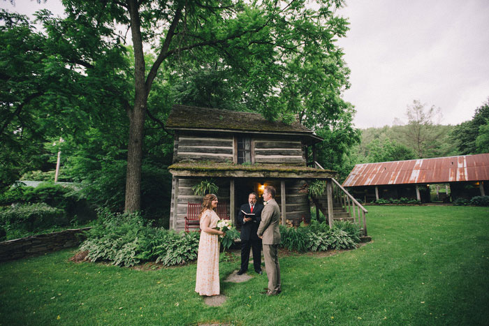 farm elopement ceremony
