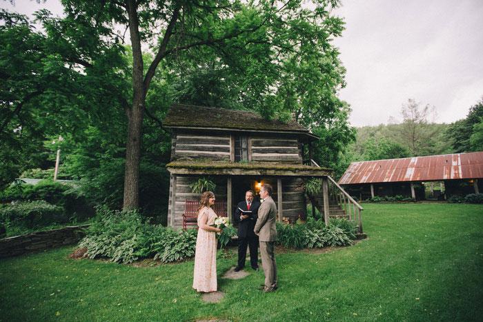 farm elopement ceremony