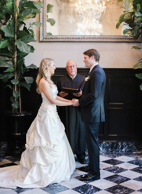 Culver Hotel wedding ceremony