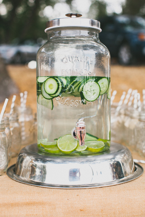 cucumber water dispenser